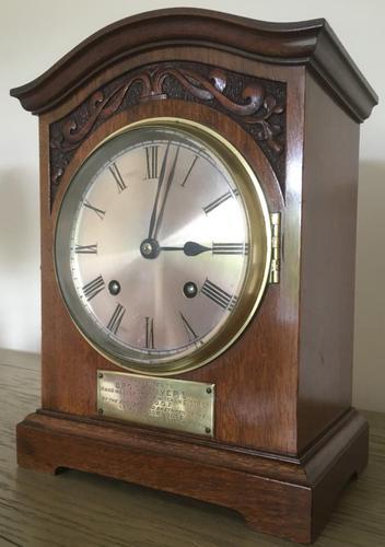 Edwardian High Quality Eight Day Striking Bracket Clock (1 of 11)