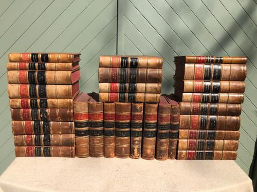 30 Antique Leather Bound Law Books 1910-1940 (1 of 7)