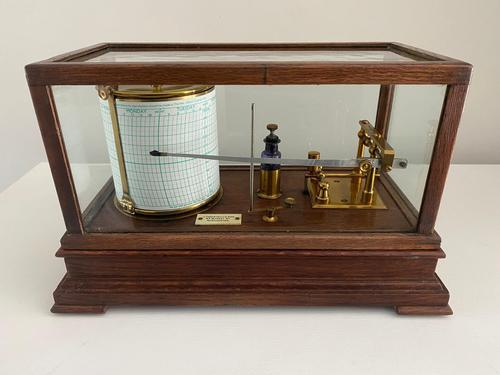 Barograph by Casartelli Manchester (1 of 3)