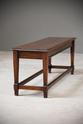 Mahogany Low Side Table (1 of 8)