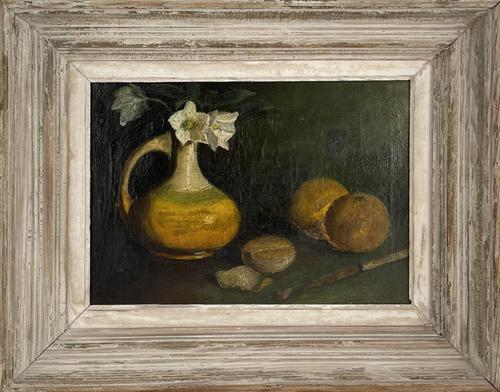 Oil on Canvas of Still Life (1 of 3)