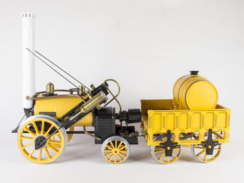 Hornby Live Steam Stephenson's Rocket As New (1 of 11)