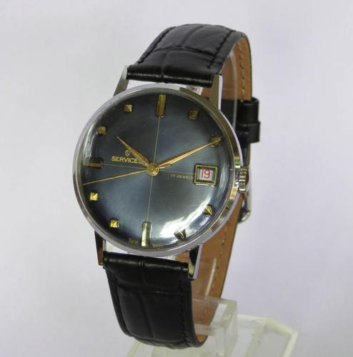 Gents 1960s Services wrist watch (1 of 4)