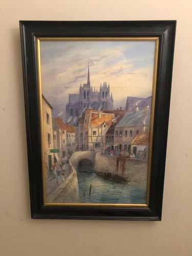 Pair of Northern European Watercolours (1 of 3)