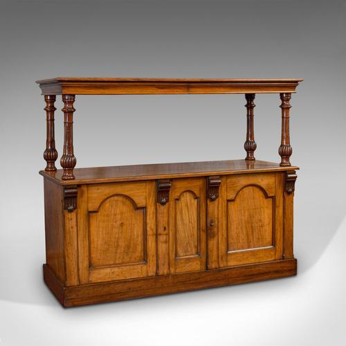 Large Antique Buffet, English, Walnut, Server, Sideboard, William IV c.1830 (1 of 12)