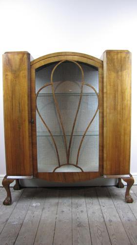 Art Deco  Display Cabinet (1 of 6)
