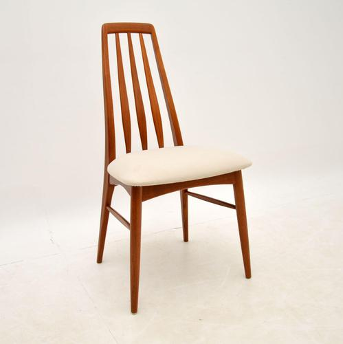 Danish Vintage Teak Dining / Desk / Side Chair by Niels Koefoed (1 of 8)