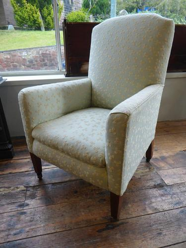 Neat Upholstered Armchair (1 of 6)