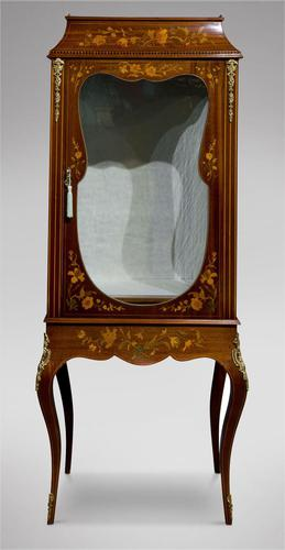 Edwardian Display Cabinet (1 of 4)