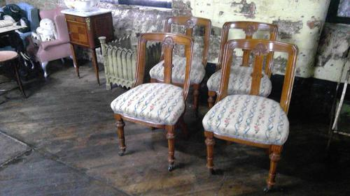 Victorian Oak Chairs (1 of 5)