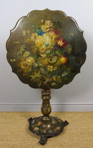 Antique Hand Painted Table Jennens & Bettridge (1 of 8)