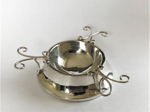 Most Unusual Edwardian Silver Ring & Trinket Dish (1 of 6)
