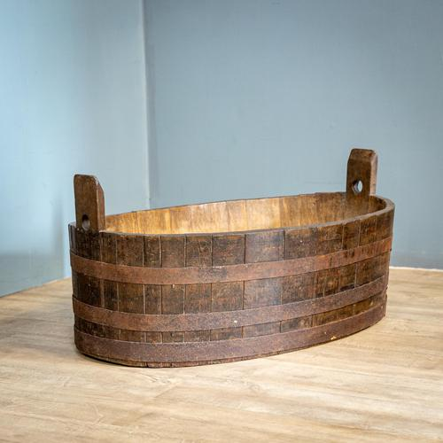 Oval Coopered Barrel (1 of 8)
