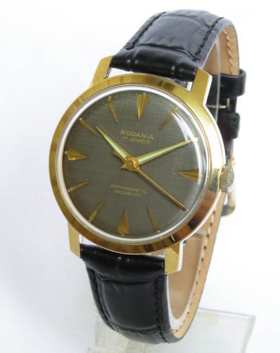 Gents Rodania Wrist Watch c.1960 (1 of 4)