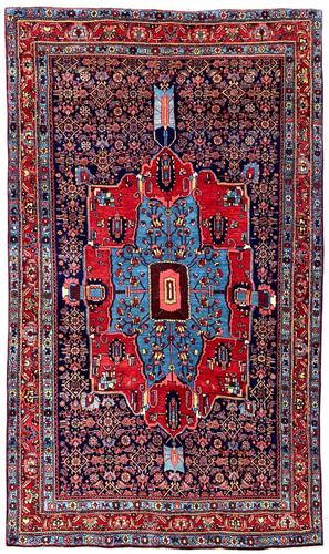 Antique Bidjar Rug (1 of 9)