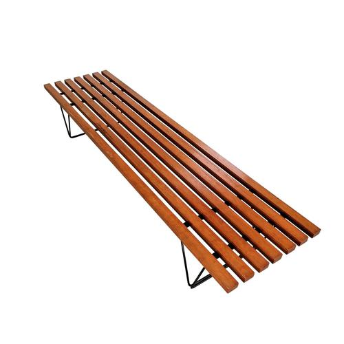 Slatted Hille Bench by Robin Day 1950s (1 of 6)