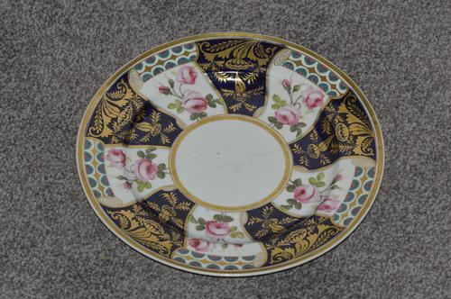 19th Century Stevenson & Hancock Derby Plate (1 of 3)
