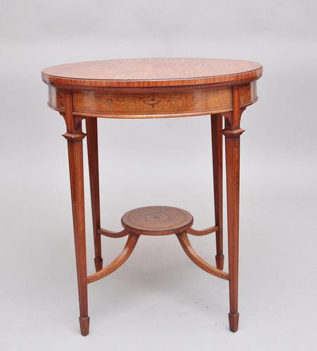 19th Century Satinwood Table (1 of 8)