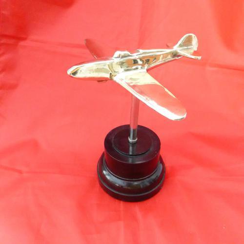 WW2  Brass Trench Art Aircraft (1 of 3)