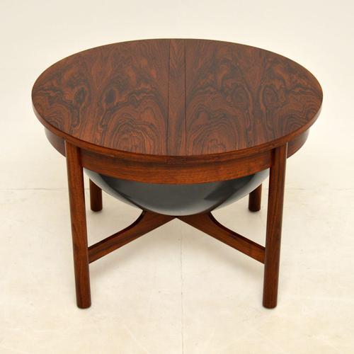 Danish Vintage Rosewood Coffee Table / Work Box (1 of 9)
