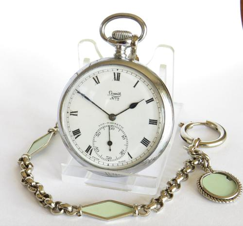 1920s Limit No 2 Pocket Watch with Later Chain (1 of 5)