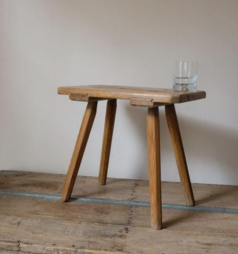 Large Early 1900's Milking Stool (1 of 10)