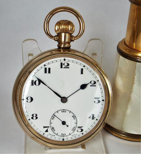 Antique 1920s Swiss pocket watch. (1 of 5)