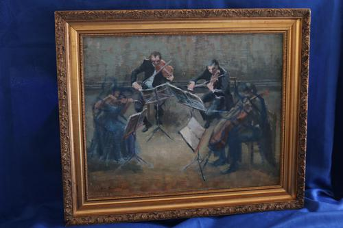 The Musicians by Helen Grunwald (1 of 10)