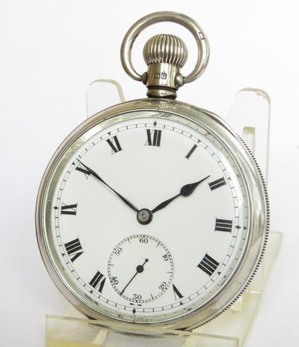 1931 Silver Cyma Pocket Watch (1 of 5)