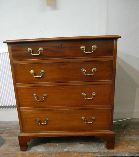 Small Early 20th Century Mahogany Chest of Drawers (1 of 10)