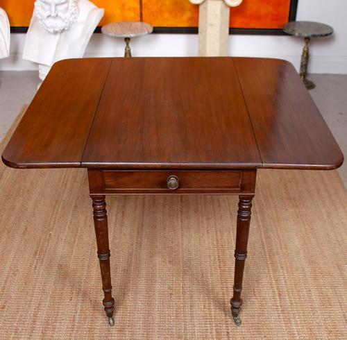 Georgian Pembroke Table Mahogany Extending Writing Modular Table (1 of 12)