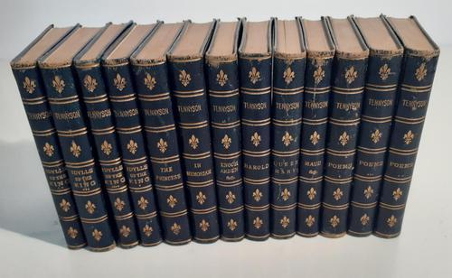 Alfred Tennyson in thirteen volumes, London 1877 (1 of 2)
