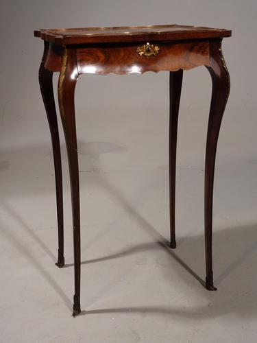 Shapely Late 19th Century Rosewood Gueridon (1 of 8)