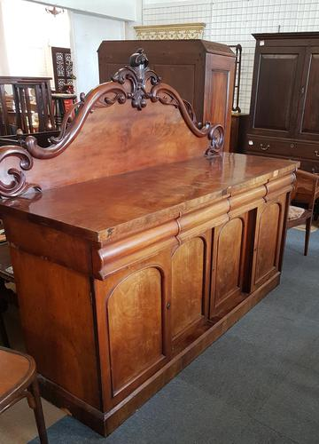 Victorian 4 Drawer Sideboard (1 of 5)