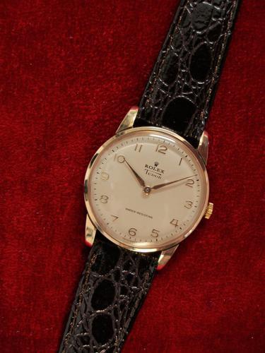 Rolex Tudor Gold Wristwatch (1 of 6)