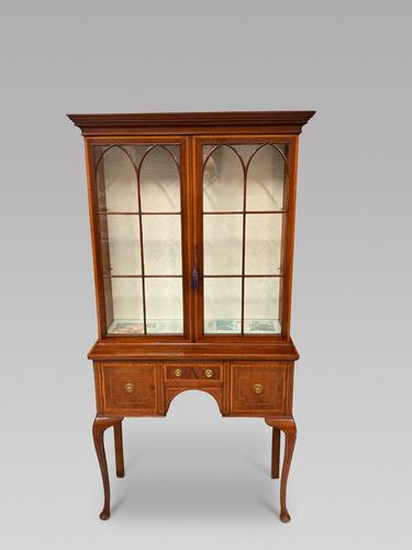 Edwardian Display Cabinet (1 of 6)
