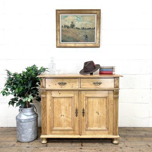 19th Century Antique Pine Cupboard (1 of 10)