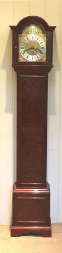 Walnut Chiming Grandmother Clock (1 of 9)