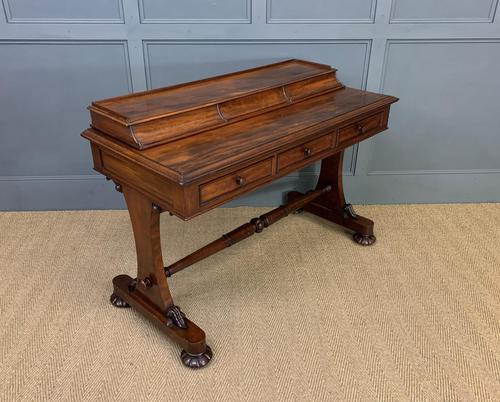 Early Victorian Mahogany Side Table (1 of 17)