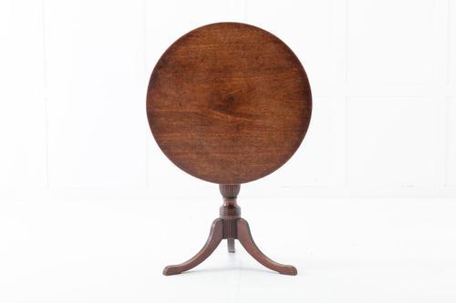 Regency Mahogany Tripod Tilt Top Table (1 of 5)