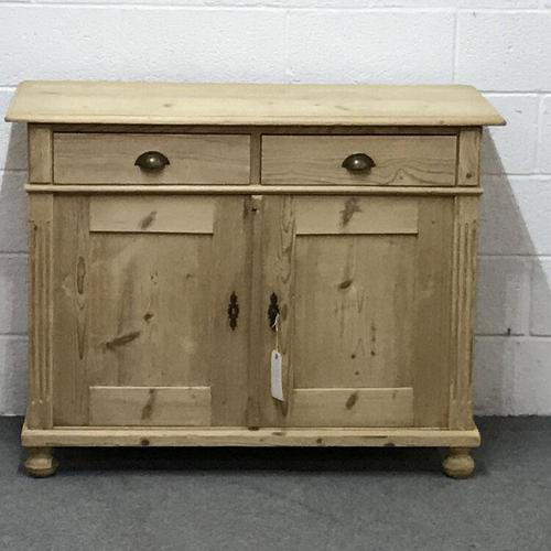 Large Old Pine Dresser Base (1 of 5)
