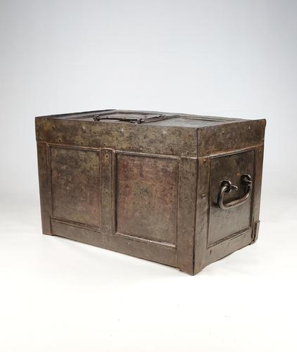 Early 18th Century Iron Strongbox (1 of 15)