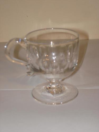 Antique Mid Victorian glass custard cup (1 of 1)