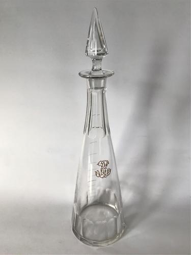 Victorian Cut Glass Liqueur Decanter (1 of 5)