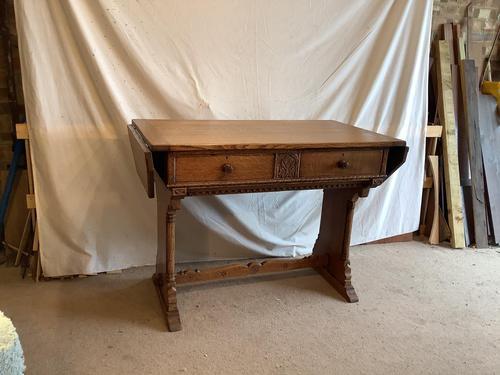 Norfolk Oak Sofa Table (1 of 4)