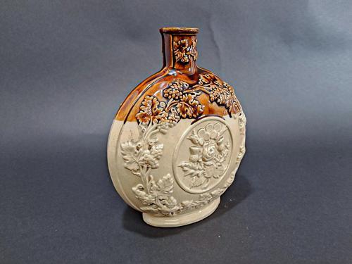 Salt Glazed Moon Flask (1 of 5)