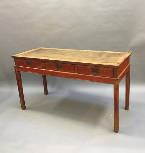 Chinese Antique Side Console Table (1 of 14)