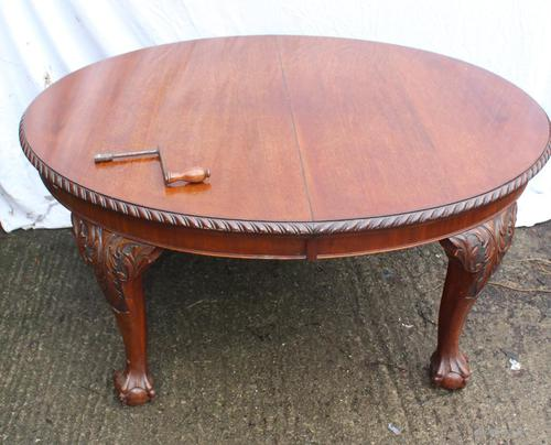 1940s Quality Mahogany Table (1 of 5)