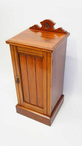 Edwardian Mahogany Bedside Cabinet (1 of 12)