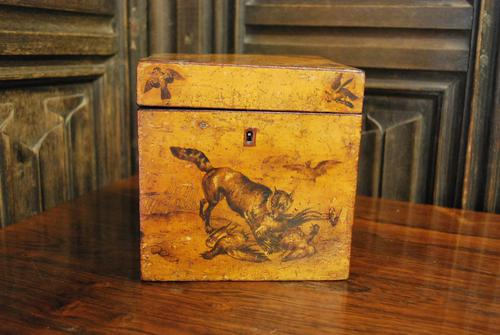 Antique French Tea Caddy Box (1 of 7)